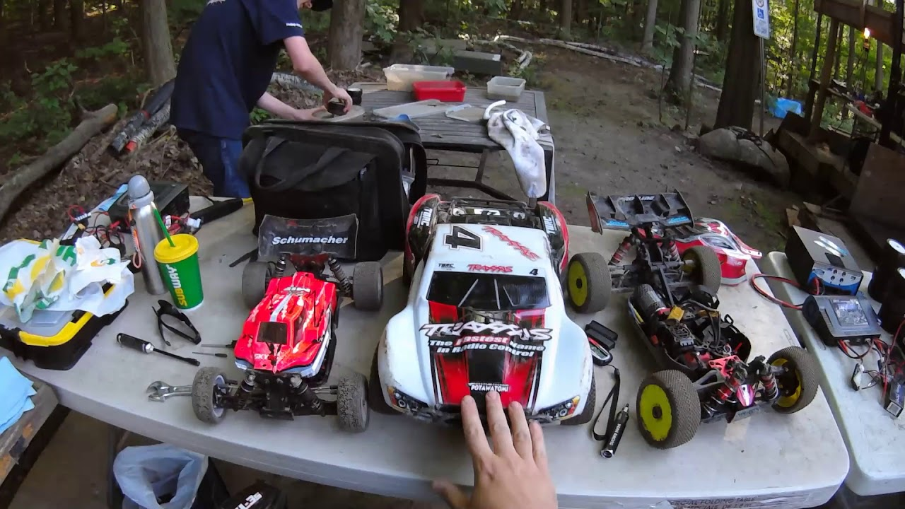 Traxxas Slash 4x4 GTR shocks oil tuning and track testing - Netcruzer RC