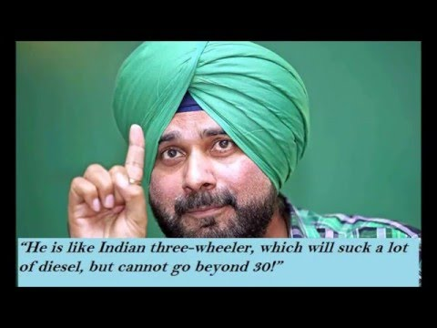 Top 10 Most Hilarious Quotes By Navjot Singh Sidhu