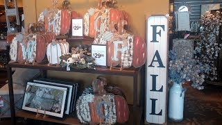 Kirklands Fall Decor Walk Thru/Shop with Me