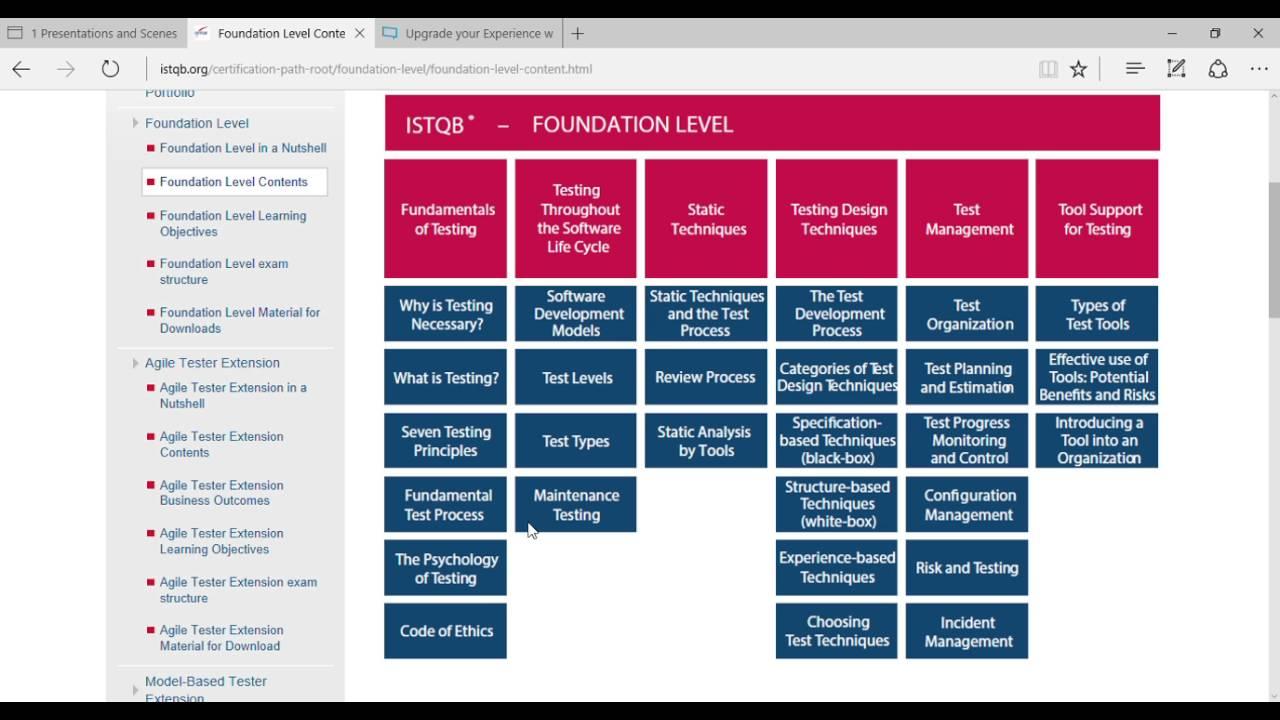 Istqb foundation level certification lecture 1 youtube istqb foundation level certification lecture 1 xflitez Images