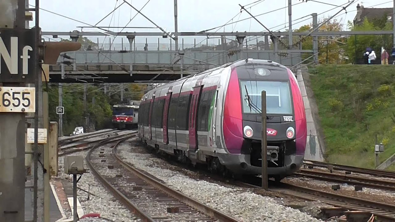 Z50000 nat d part de la gare d 39 argenteuil sur la ligne j du transilien - Transilien prochain train ...