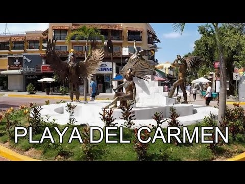 5th Avenue, Playa del Carmen, Mexico | Street Walk