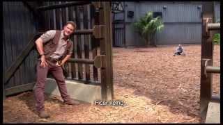 Diário do Jurassic World de Chris Pratt - Cenas de Ação