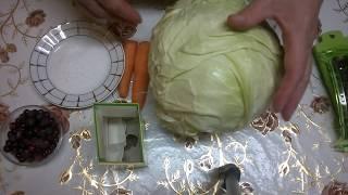 Квашеная капуста на зиму  Видео рецепт квашеной капусты просто и очень вкусно(Квашеная капуста на зиму. В этом видео мы покажем рецепт квашеной капусты. Есть много схожих и не очень..., 2016-10-24T19:23:19.000Z)