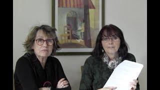 Margaret Zaleski-Zamenhof demandas Katalin Kovats pri la KER-ekzamenoj