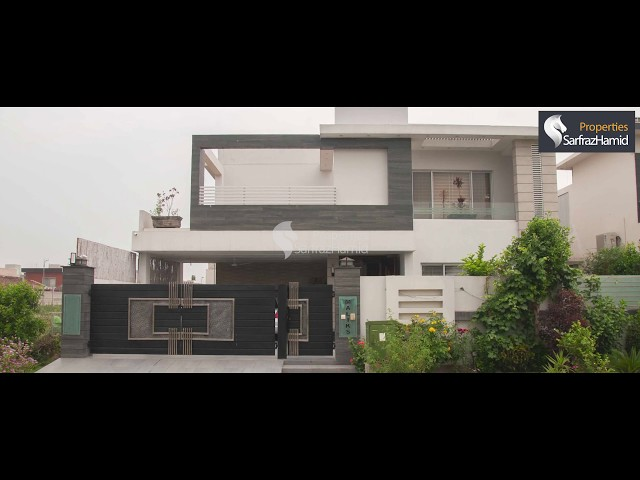 1 kanal Spanish Designed Villa For Sale - Sector C
