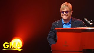 Celebrating Elton John on his 73rd birthday l GMA Digital