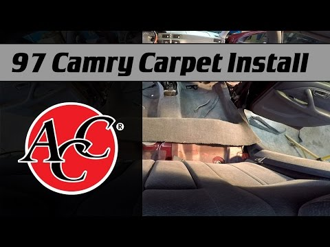 ACC Carpet Install in a 1997 Camry