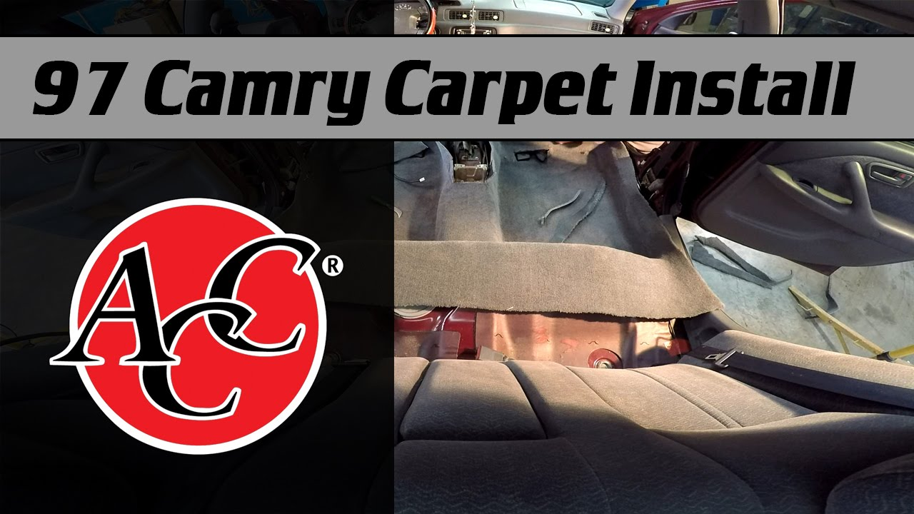 Acc Carpet Install In A 1997 Camry Youtube