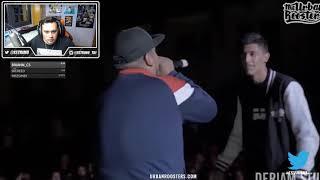 ¡NUNCA DEJARON de RESPONDER en ESTOS 4X4!   Batallas De Gallos (Freestyle Rap)   ESTRIMO
