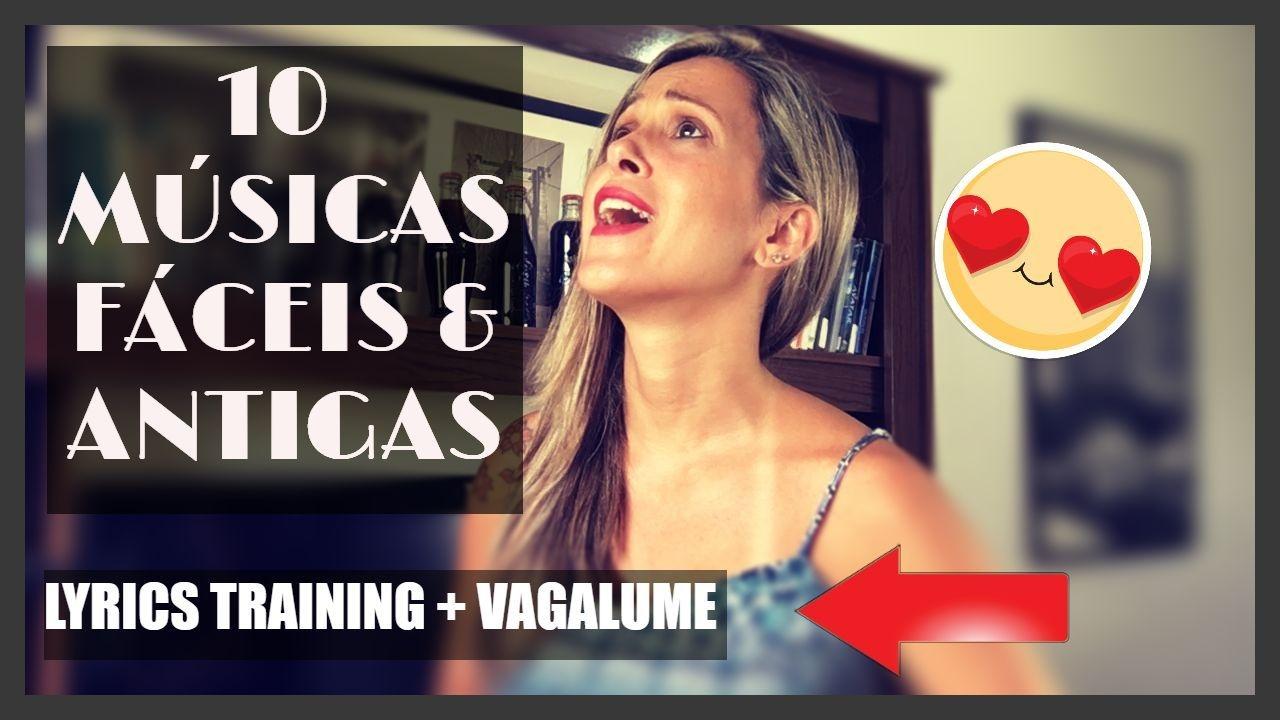 10 Músicas Fáceis Em Inglês Lyrics Training Vagalume Aprenda Inglês Com Música Youtube