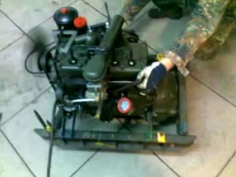 Engine Motor Jeep Willys L134 Youtube