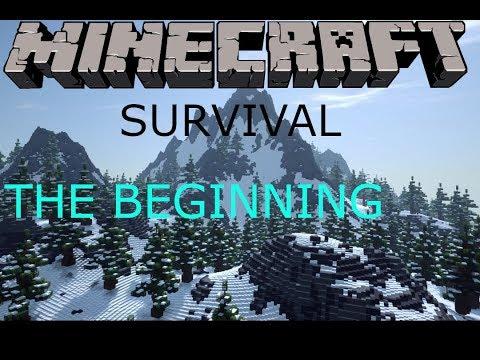 THE BEGINNING MINECRAFT SURVIVAL EP 1