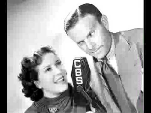 Burns & Allen radio show 4/28/49 George the Baker