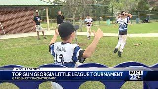 Top Gun Baseball little league tournament swings on