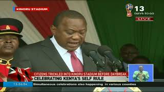 55th Madaraka Day: President Uhuru Kenyatta's full speech