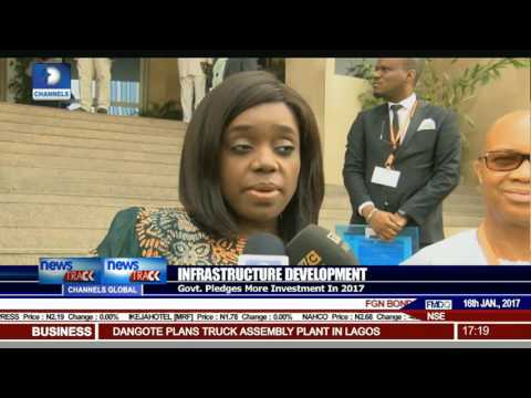 FG Pledges To Invest More In Infrastructure In 2017