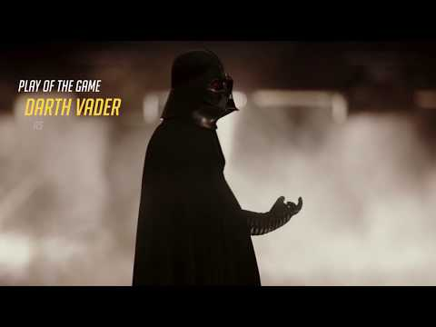 Darth Vader Gets Play of the Game