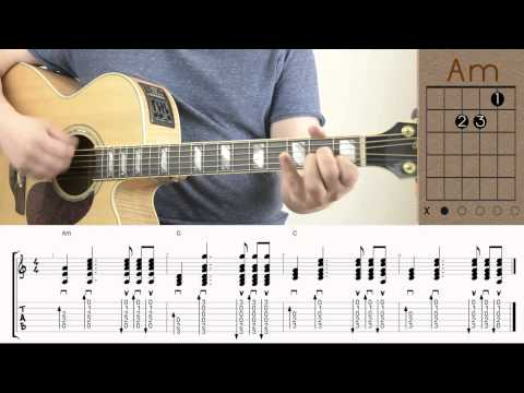 The Lumineers - Ho Hey / Guitar Lesson / Tutorial / Chords / How to Play for Beginners