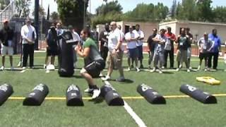 Notre Dame O Line Drills Part 1