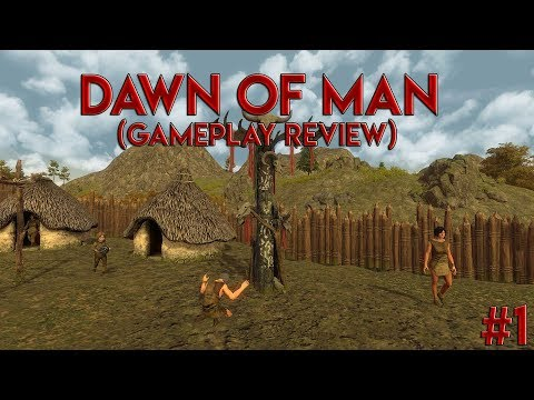 Dawn of Man EP.1 - Gathering Resources (No Commentary)  