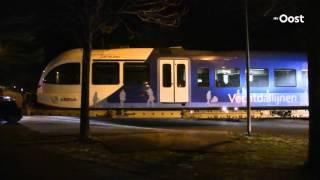 Wrakstukken trein Dalfsen in Meppel voor onderzoek