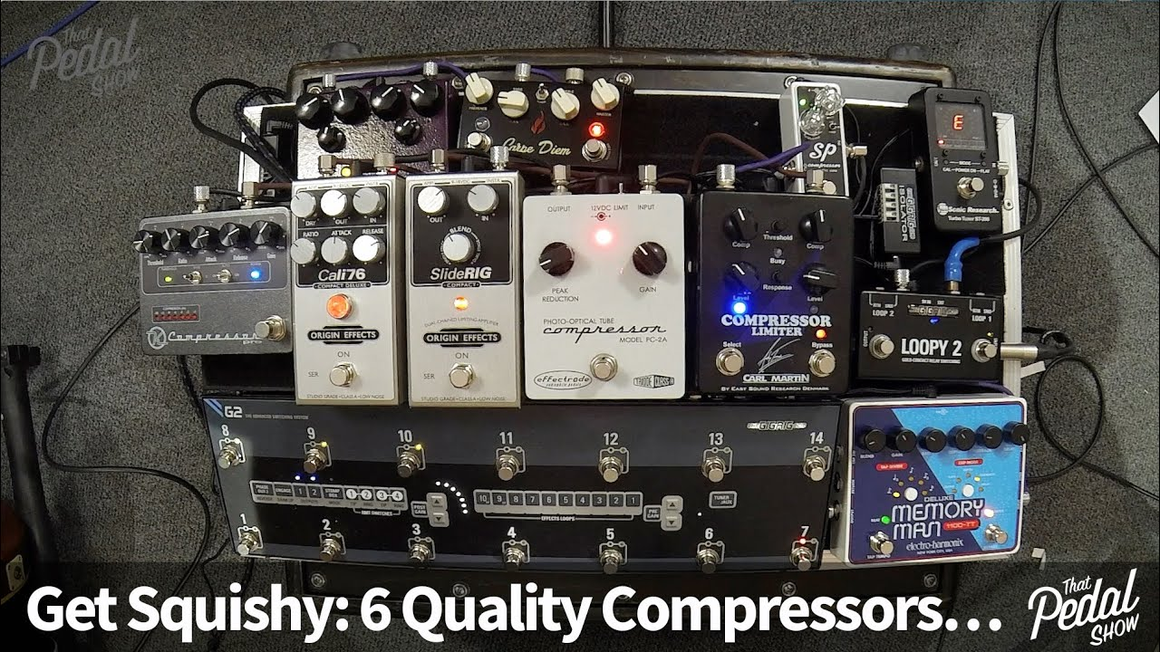 that pedal show six quality compressors to send you squishy youtube. Black Bedroom Furniture Sets. Home Design Ideas