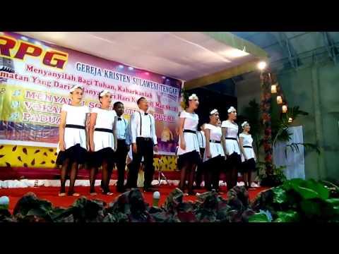 Vocal grup Klasis Poso Kota PRPG BADA