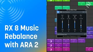 How to use Music Rebalance with ARA 2 | iZotope RX 8