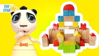 Dolly and Friends 3D | Babies Play with Colored Brick and T-Rex #183