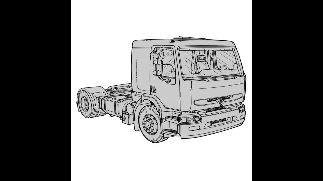 Renault Premium Service Manual Repair Manual Wiring Diagrams Youtube