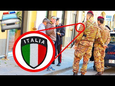 ARRESTED BY ITALIAN POLICE!!