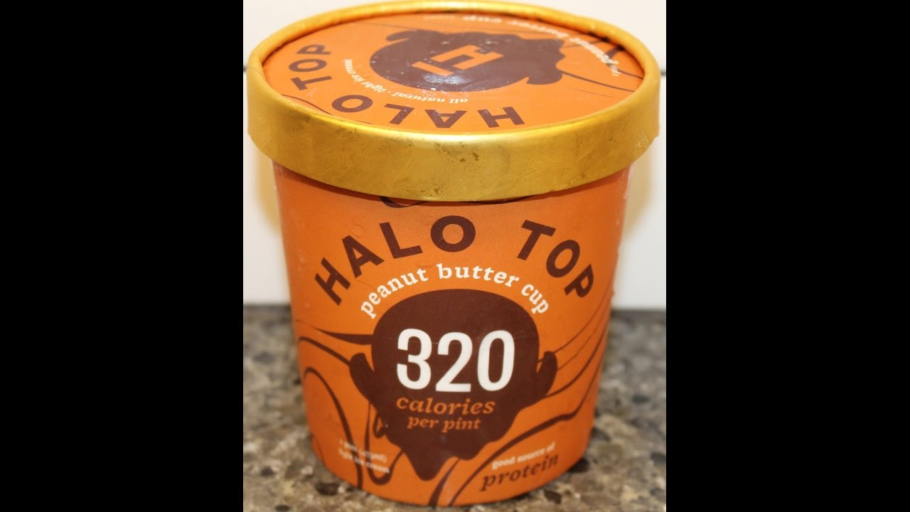 Halo Top: Peanut Butter Cup Ice Cream Review