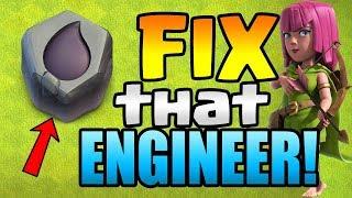 DARK ELIXIR RUNE + The BANK!  Fix that Engineer ep9 | Clash of Clans