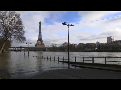 Floods Threaten Paris, As The Seine River Rises