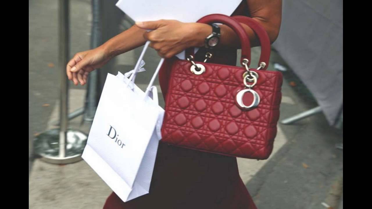 c668e8b3e6 The Lady Dior Bag in Red