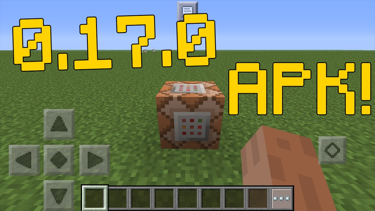 Mcpe 0 17 0 Official Apk Download Gameplay Minecraft Pe Pocket Edition 0 16 0 Real Gameplay Youtube