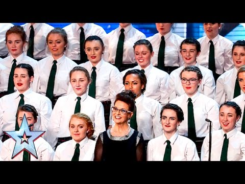 Presentation School Choir strike a chord  Week 3 Auditions  Britain's Got Talent 2016