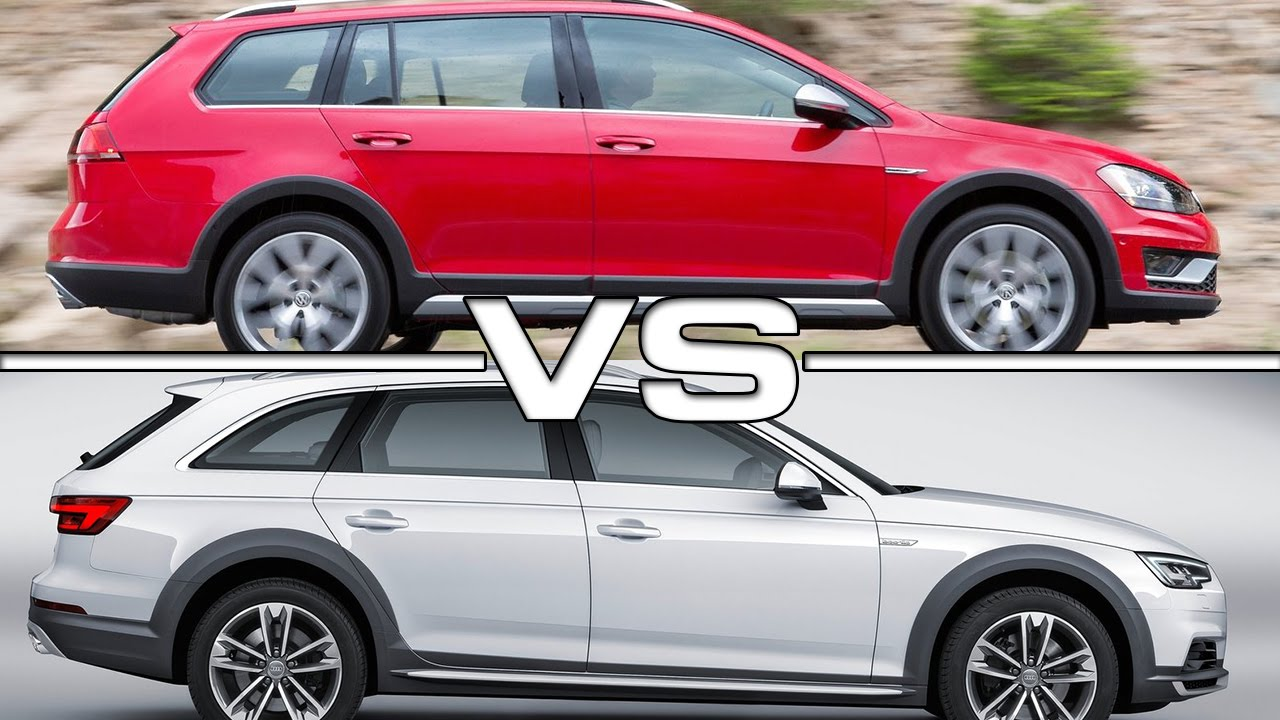 Volkswagen Golf Alltrack vs Audi A4 Allroad Quattro - YouTube