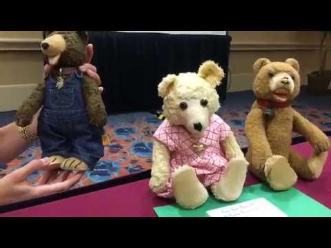 Steiff Teddy Baby Bear Seminar with Steiff Gal Rebekah Kaufman