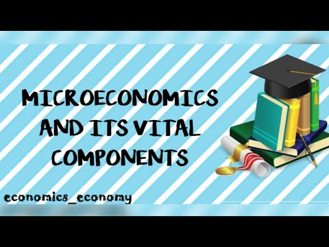 Microeconomics and its vital components!!