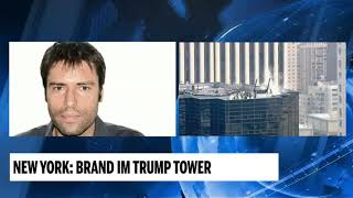 New York: Brand im Trump Tower
