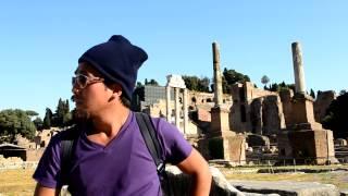 アキーラさん訪問③イタリア・ローマ・フォロロマーノ・ForoRomano,Rome,Italy