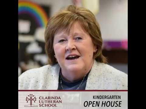 Clarinda Lutheran School // Kindergarten Open House 2019