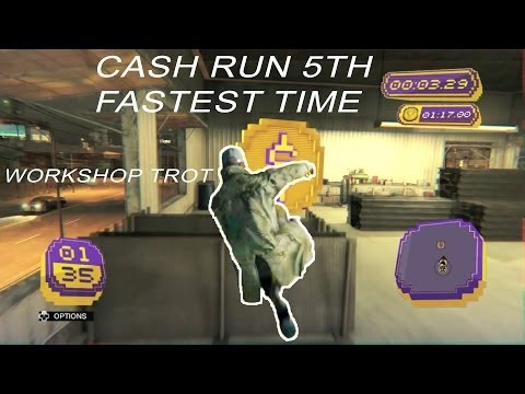 Watch_Dogs Cash Run world record *