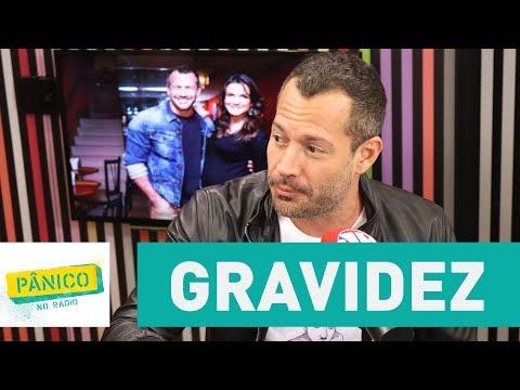 Malvino Salvador fala sobre gravidez com Kyra Gracie | Pânico