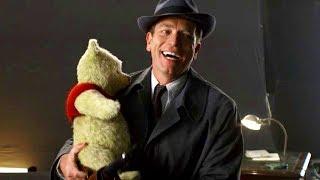 ユアン・マクレガーに抱っこされたプーが今にも動き出しそう!映画『プーと大人になった僕』メイキング