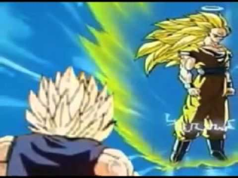 Dbz super saiyan 3 goku vs majin vegeta english - Goku vs vegeta super saiyan 5 ...