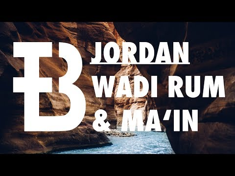 Discover Jordan | Explore the desert of Wadi Rum & hot waterfalls at Ma'in