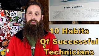 10 Habits of Successful Technicians; Podcast Episode 23